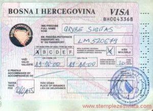 Отдых босния и герцеговина нужна ли виза