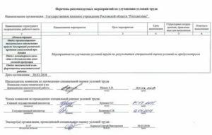 Протокол комисси о завершении спецоценки в ворде 2020