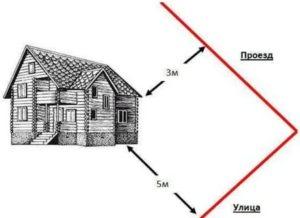 Что делать если дом меньше 3 метров