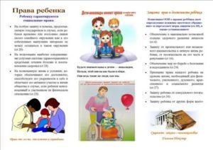 Права и обязанности родителей детей инвалидов