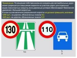Минимальная скорость движения на автомагистрали
