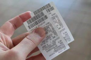 Билет на электричку действителен в течение