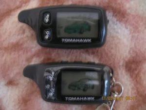 Если марка брелка и сигнализации одинаковые  а модели разные томагавк