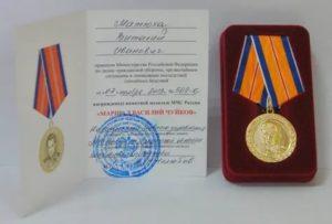 Награды мчс россии для получения ветеран труда