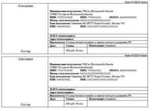 Квитанция на оплату госпошлины на замену паспорта при смене фамилии