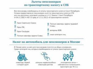 Платит ли пенсионер налог на автомобиль в московской области