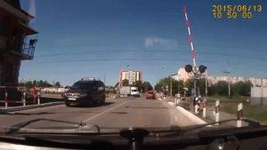 Выезд на жд переезд на запрещающий сигнал