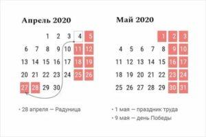 28 апреля день недели 2020