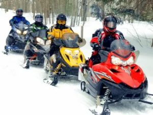 Управление снегоходом без прав