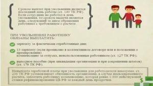 Сроки выплаты при увольнении по собственному желанию через казначейство