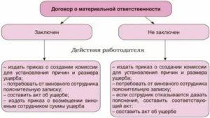 Материально ответственное лицо перечень должностей по тк рф в школе