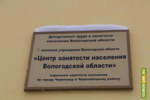 Центр занятости населения череповец официальный сайт курсы