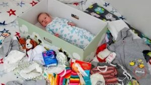 Подарок при рождении ребенка от государства спб