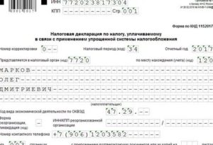 Код формы реорганизации в декларации усн