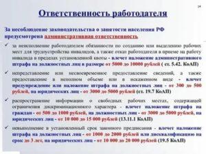 Ст 25 закон рф о занятости населения в рф действующая редакция