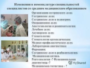 Кто относится к категории врач специалист