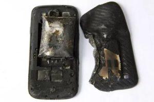 Сгорел телефон на гарантии что делать
