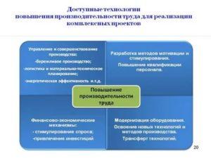 Увеличение эффективности труда