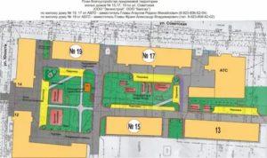 План схема дома с придомовой территорией где можно посмотреть
