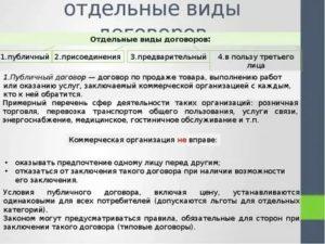 Деятельность адвоката при составлении публичного договора предварительного присоединения