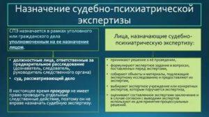 Правила оформления посмертной психолого психиатрической экспертизы