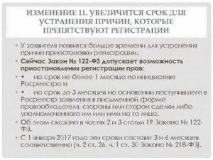 Приостановка государственной регистрации по заявлению заявителя